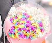 ラッピングまでプロ仕様。上質な花束をお届けしますラッピングまでプロ仕様。上質な花束をお届けします