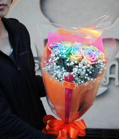 10本前後の花束