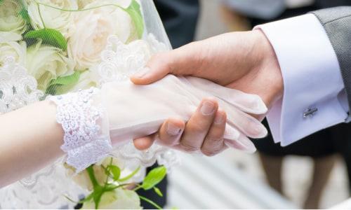 結婚のお祝い