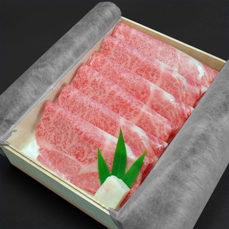 神戸牛高級ギフト四つ星ロースすき焼き400g〜はこちらでございます。