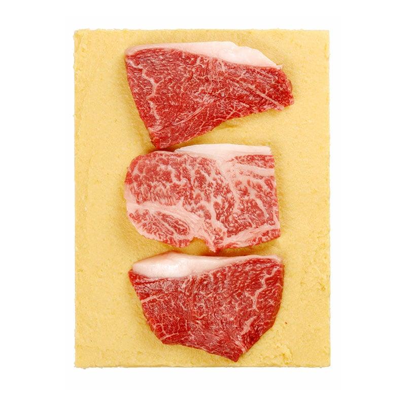 神戸牛味噌漬3枚入