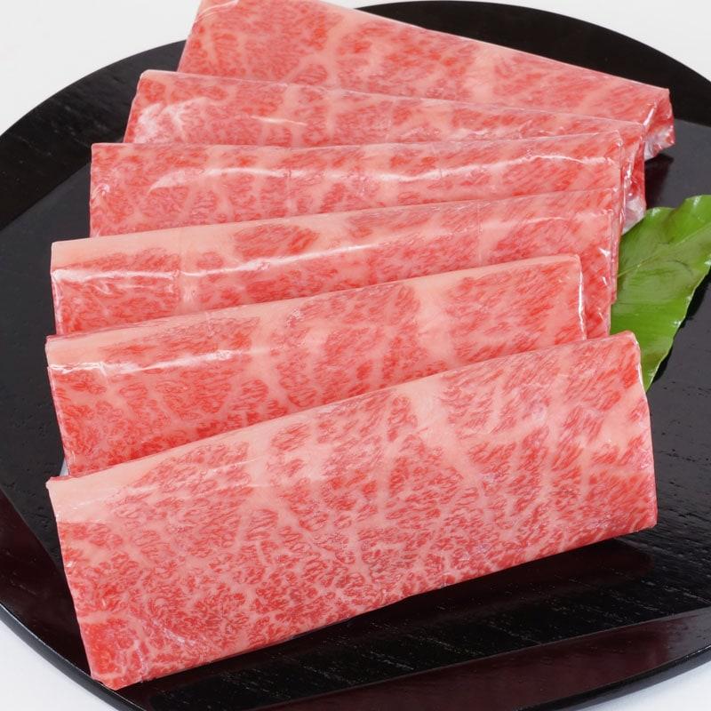 五つ星神戸牛ロースすき焼き