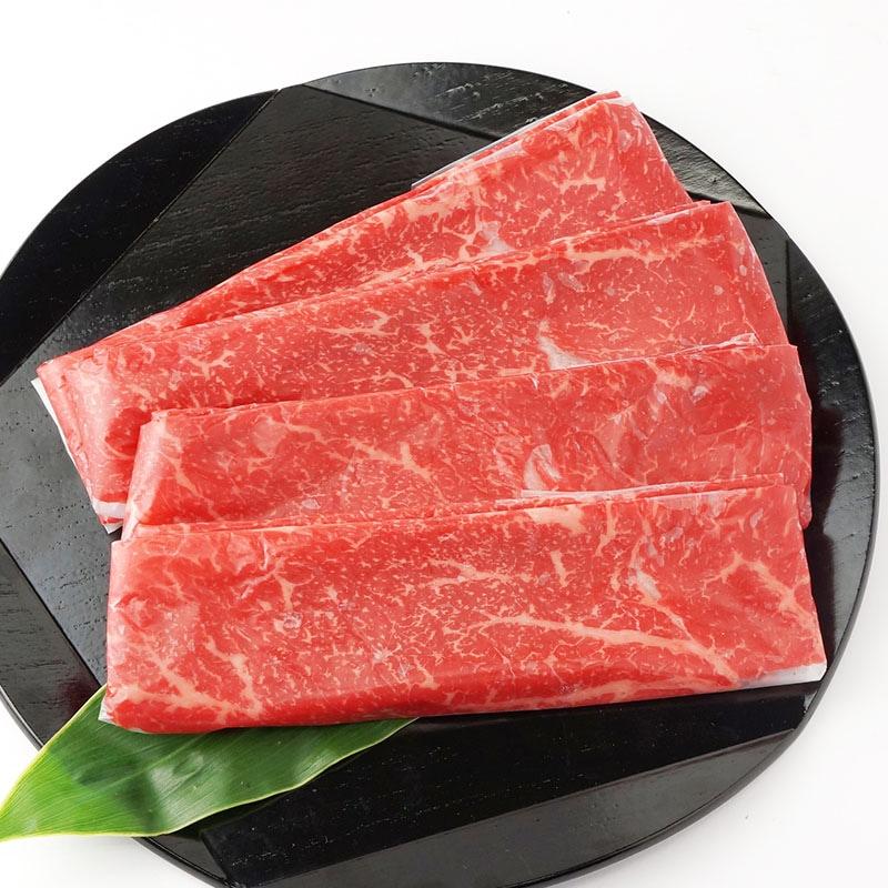 神戸牛赤身モモすき焼き