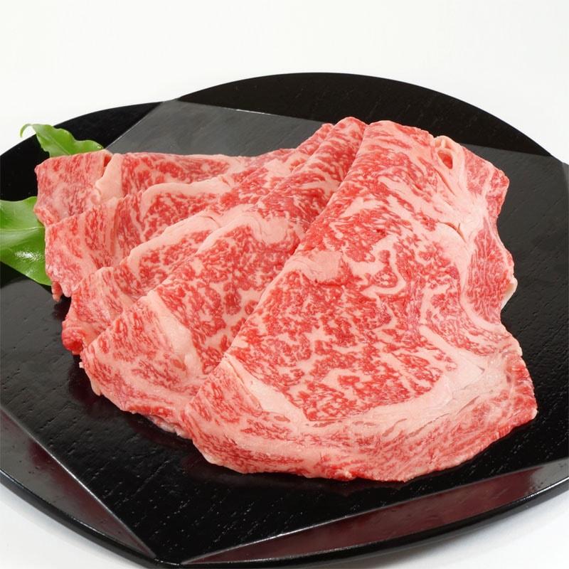 黒毛和牛牛ロースすき焼き