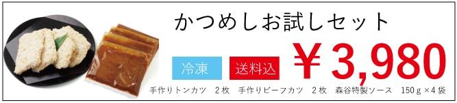 かつめしお試しセット3980円