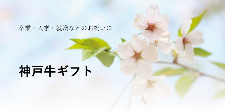 卒業や入学、就職のお祝いなどに 神戸牛ギフト 送料込み