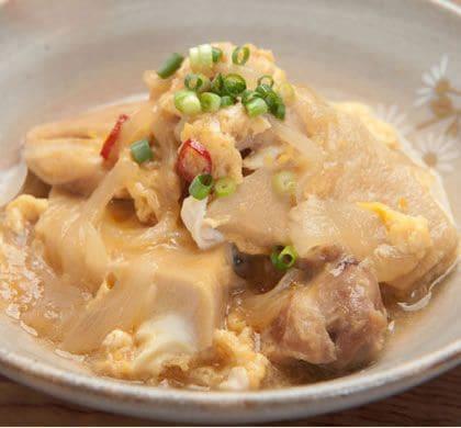 鶏肉と高野豆腐のうま煮