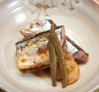 秋刀魚の梅煮