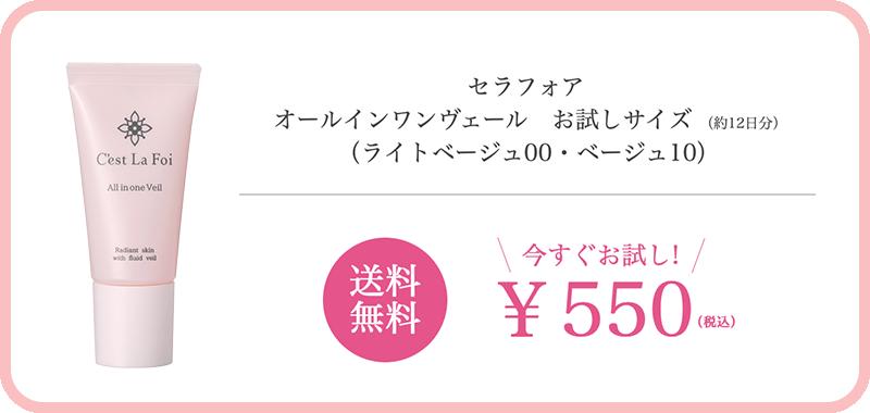 送料無料 今すぐお試し!¥550(税込)