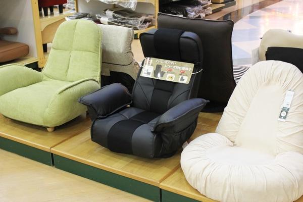 座椅子展示風景