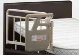 サイドレールがあるので安心のフランスベッド