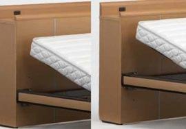 フランスベッドは2段階に調節可能なフレーム