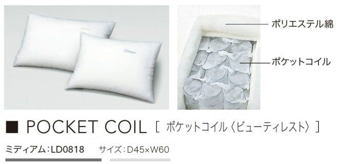 Beautyrest Pocketcoil Pillow LD0818ミディアム