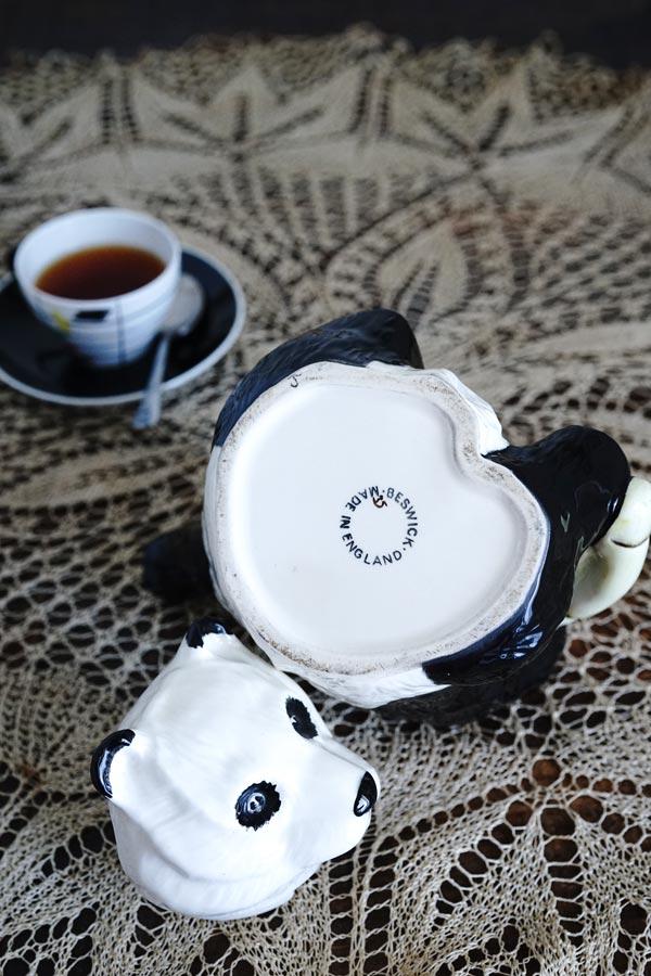 イギリスBeswickのパンダのコーヒーポット1940−50年代 glu-0023
