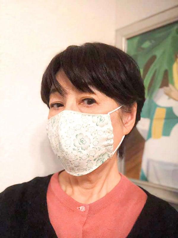フレンチファブリックとリネンのマスクキット・大人女子小さめサイズ gm-002