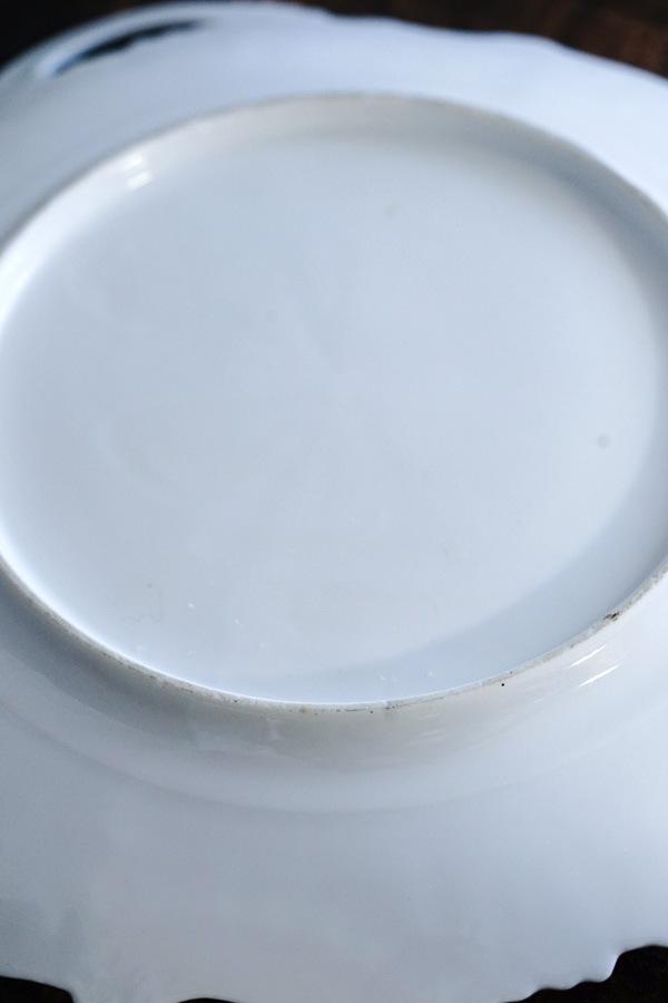 アンティークババリアの耳付きプレート30×27×3.8cm 1910−30年代頃 gc-842