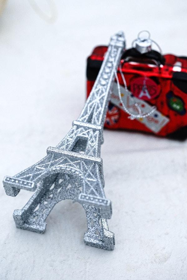 リバティクリスマスガラスオーナメントエッフェル塔 gx-466