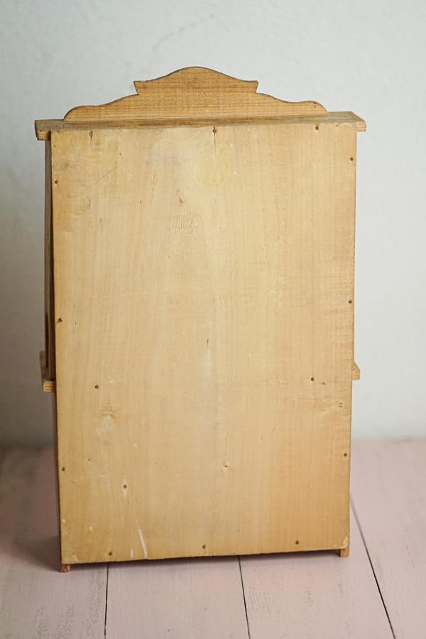 フランスミニチュアカップボード1930年代頃 H38×W24×D9.5cm gt-929