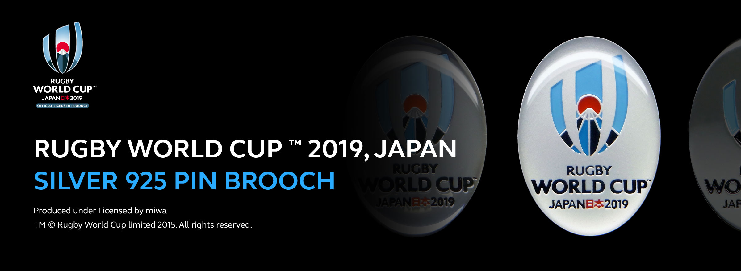 RUGBY WORLD CUP(TM)2019,JAPAN公式ライセンスグッズ