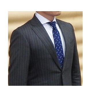 西陣織ネクタイ(スパナ・めがねレンチ柄)
