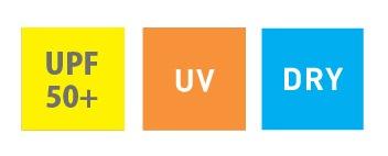 UPF50+ UV DRY