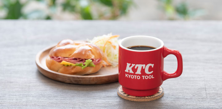 KTCロゴ マグカップ