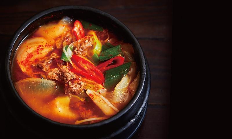 韓国の鯨チゲ鍋