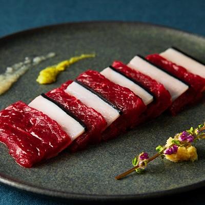赤肉の刺身