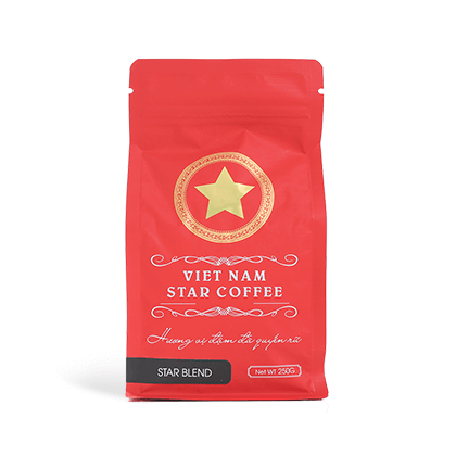 VIETNAM STAR COFFEE STAR BLEND(豆 250g)