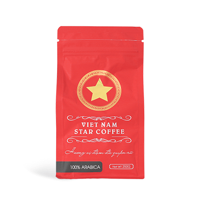 VIETNAM STAR COFFEE 100%アラビカ(豆 250g)