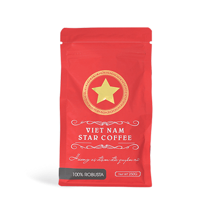 VIETNAM STAR COFFEE 100%ロブスタ(粉 250g)