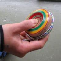 鉄芯のこまの紐の巻き方06