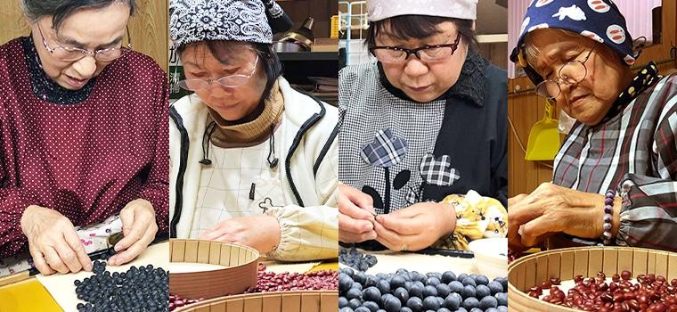 鳥取・田中農場のもち大豆は徹底した品質チェックのもとお客さまにお届けしています