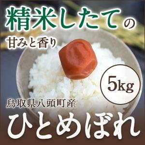 鳥取・田中農場のひとめぼれ白米5kg【優しい味わいでどんな料理にも相性の良いお米】