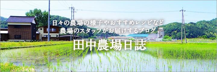 ブログ田中農場日誌はこちら