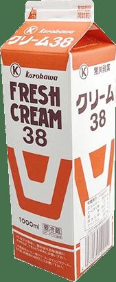 38%生クリーム