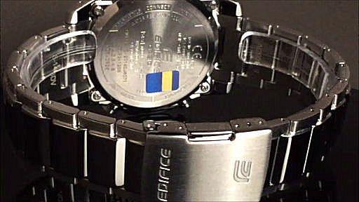 カシオ エディフィス アナログ・デジタル ソーラー腕時計 CASIO  EDIFICE  ECB-500D-1AJF