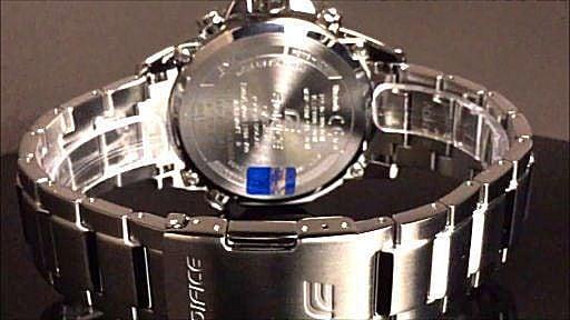 カシオ エディフィス ソーラー腕時計 CASIO  EDIFICE  EQB-700D-1AJF