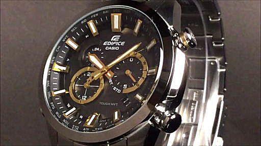 CASIO EDIFICE カシオ エディフィス ソーラー電波腕時計 EQW-T640D-1A9JF