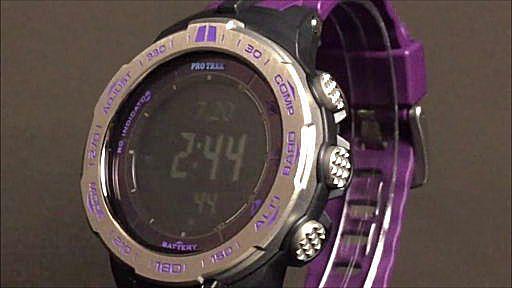 カシオ プロトレック デジタルソーラー電波腕時計 CASIO PRO TREK PRW-3100-6JF