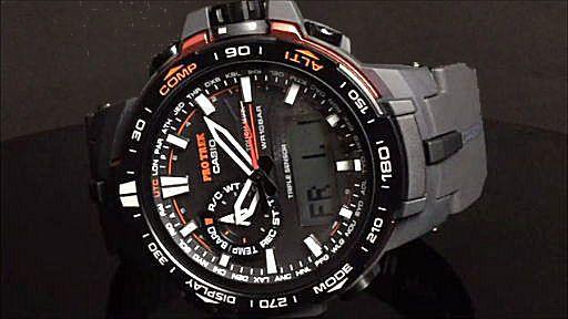 カシオ プロトレック アナログ・デジタル ソーラー電波腕時計 CASIO PRO TREK  PRW-6000Y-1JF