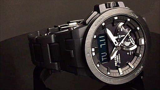 カシオ プロトレック ソーラー電波腕時計 CASIO PRO TREK  PRW-7000FC-1BJF