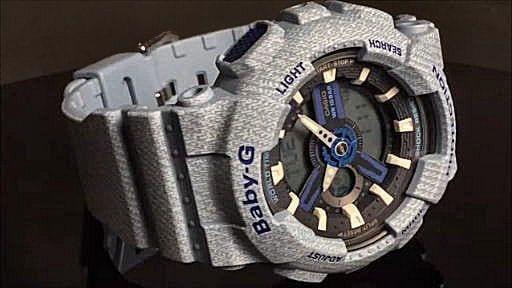 カシオ ベビーG アナ・デジ 腕時計 CASIO Baby-G  BA-110DE-2A2JF