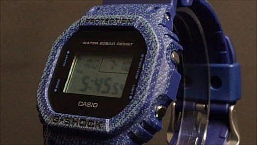 カシオGショック デジタル腕時計 CASIO G-SHOCK DW-5600DE-2JF