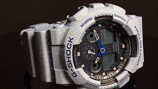 カシオGショック アナログ・デジタル腕時計 CASIO G-SHOCK  GA-100DE-2AJF