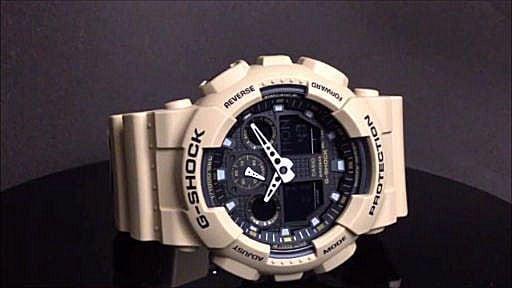 カシオGショック腕時計 CASIO G-SHOCK  GA-100L-8AJF