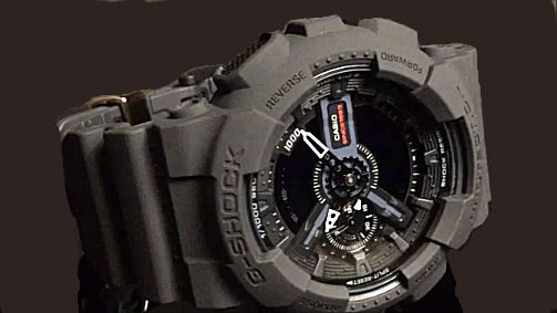 カシオGショック 腕時計 GA-135A-1AJR 35th Anniversary BIG BANG BLACK