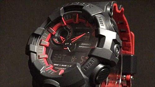 カシオGショック アナログ・デジタル腕時計 CASIO G-SHOCK GA-700SE-1A4JF