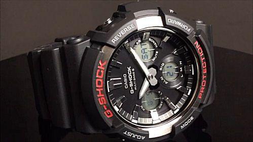 カシオGショック アナログ・デジタル ソーラー電波腕時計 CASIO G-SHOCK GAW-100-1AJF