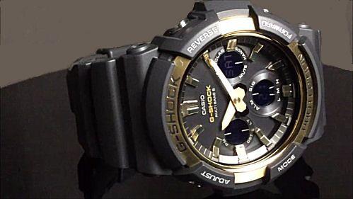 カシオGショック アナログ・デジタル ソーラー電波腕時計 CASIO G-SHOCK GAW-100G-1AJF
